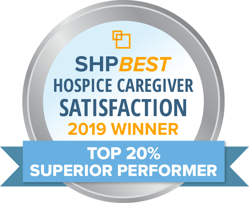 """Circle of Life has earned the 2019 SHPBest """"Superior Performer"""" Caregiver Satisfaction Award"""