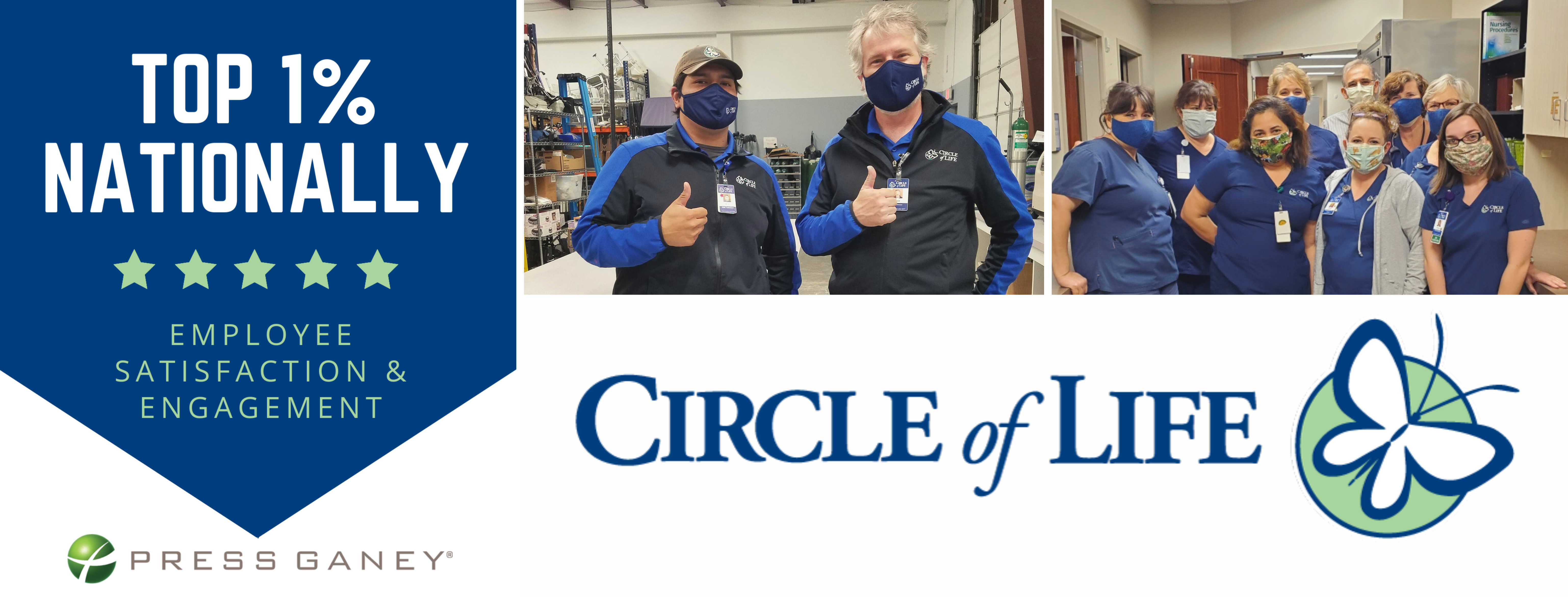 Circle of Life Receives Top Scores in Employee Engagement and Satisfaction