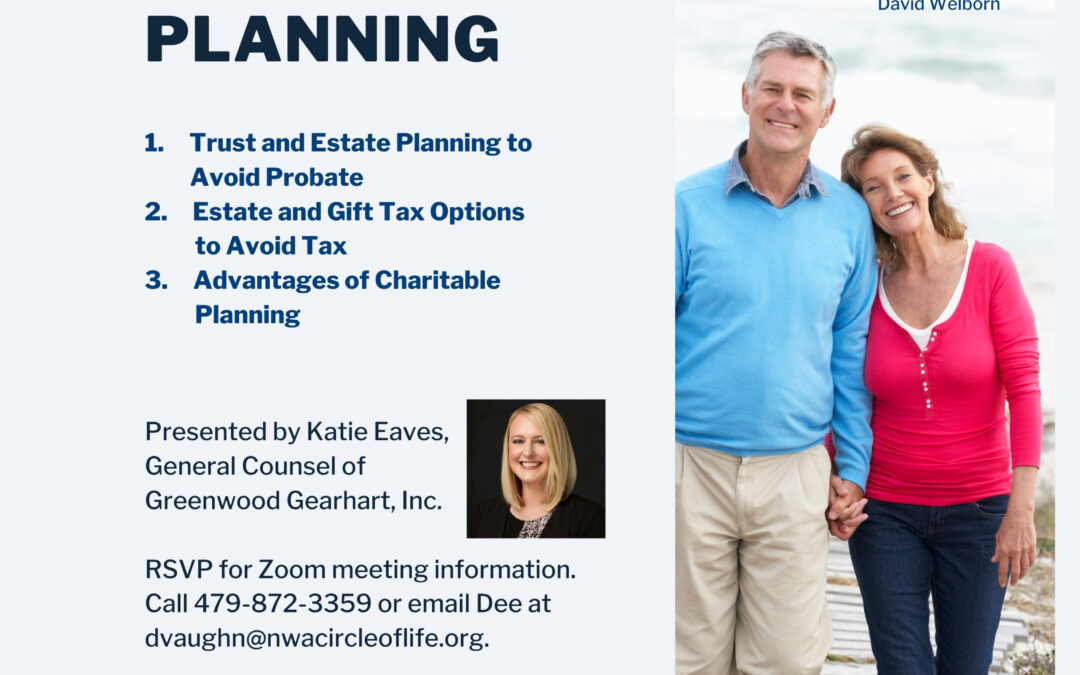 Advanced Estate & Charitable Planning Webinar